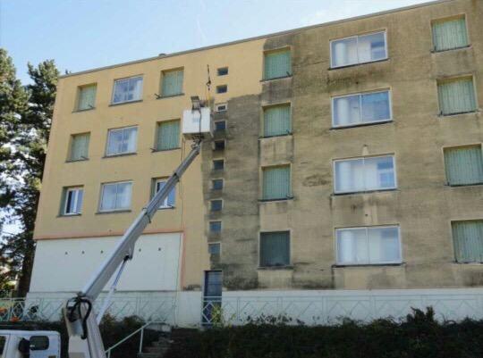 nettoyage de facade Gareoult